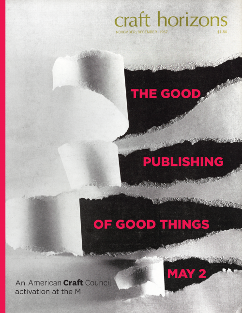 The Good Publishing of Good Things
