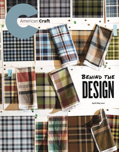 Cover of the April/May Issue of American Craft
