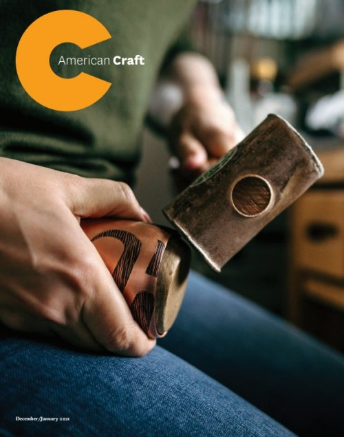 Cover of the December January 2021 Gift Issue of American Craft
