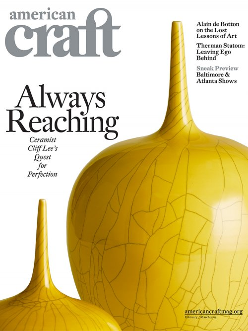 American Craft magazine February/March 2015 issue cover