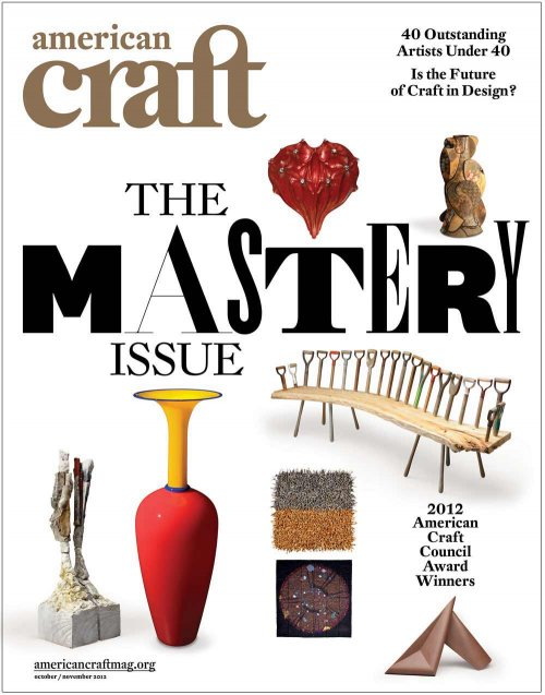 American Craft Oct/Nov 2012 cover
