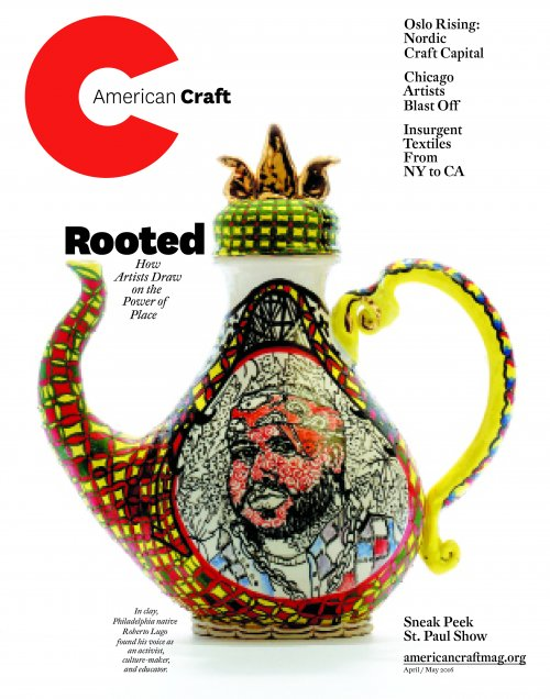April/May 2016 American Craft magazine cover