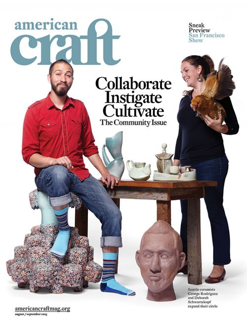 August/September 2015 American Craft magazine
