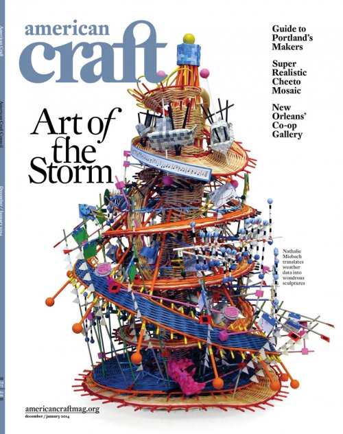 American Craft magazine December/January 2014 cover