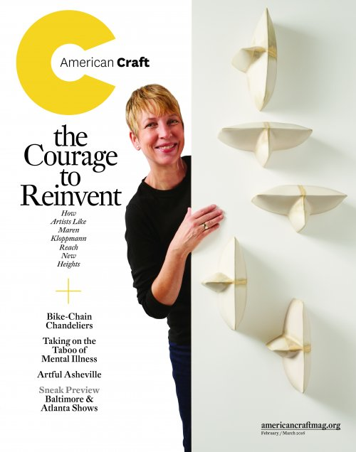 February/March 2016 American Craft magazine