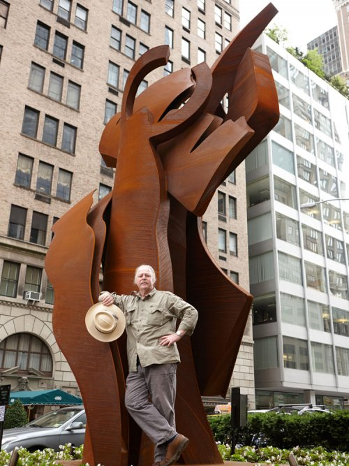 Albert Paley with Counter Balance