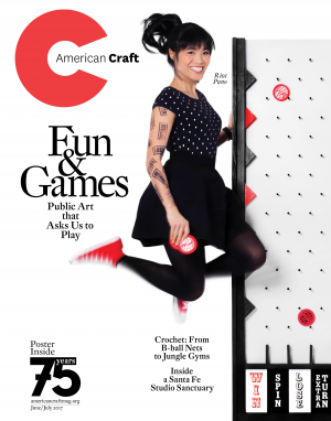 June/July 2017 American Craft magazine cover