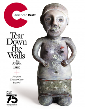 August September American Craft magazine cover