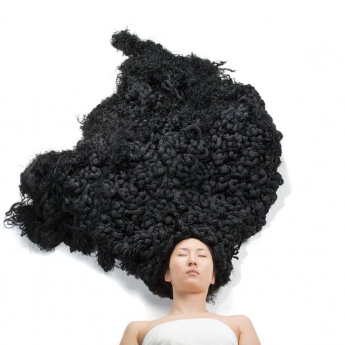Yuni Kim Lang Hair Sculpture
