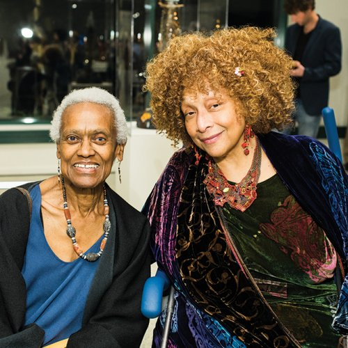 Joyce J Scott With Louise David