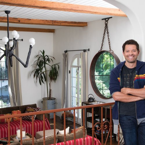 Misha Collins living room