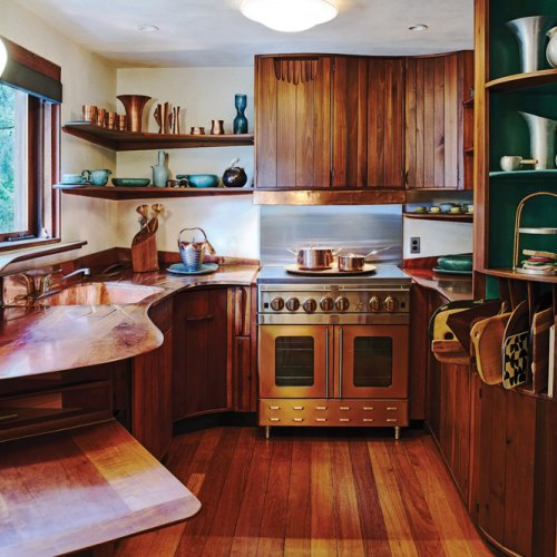 Esherick house kitchen