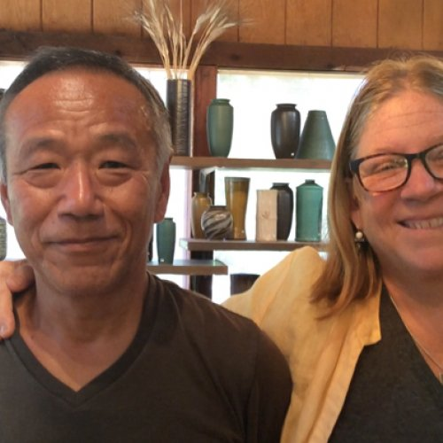 Ceramists Cheryl Costantini and Mikio Matsumoto of Nichibei Potters