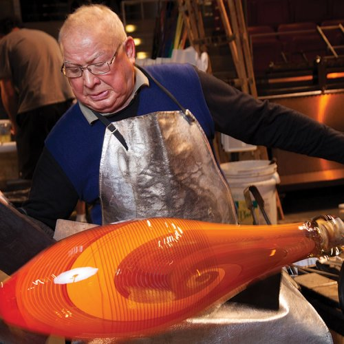 Lino Tagliapietra Glass Blowing