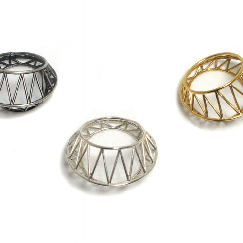 Maria Eife Star Cage Rings