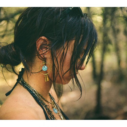 Lily Wykoff in Dream Catcher Earrings