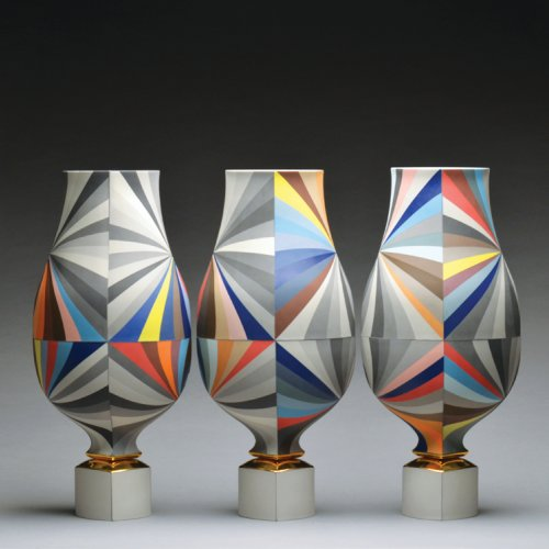 Peter Pincus 21 Inch Tall Vessels