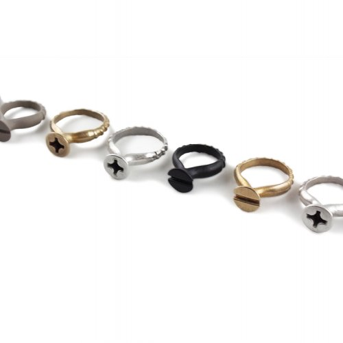 Stacey Lee Webber Screw Rings