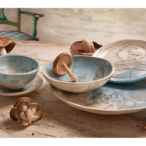 Tableware by Diana Fayt
