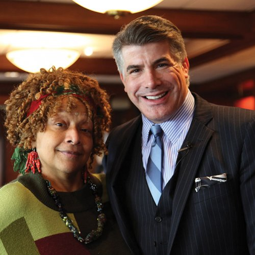Bryan Batt and Joyce Scott