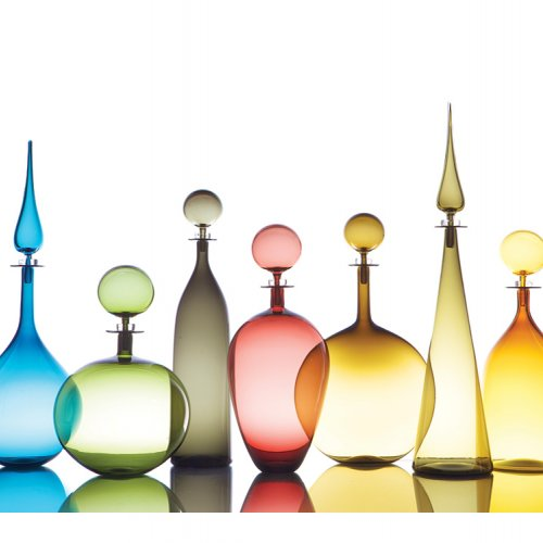 Joe Cariati, Glass Decanters