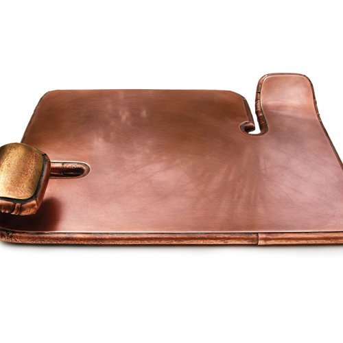Myra Mimlitsch-Gray, Copper Chiclet Tray