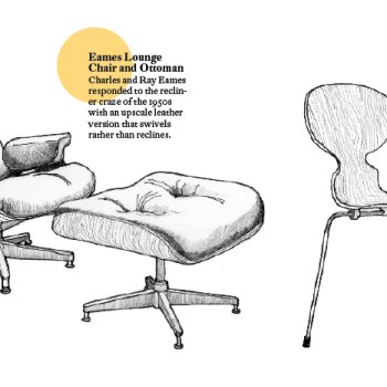 Eames and Ant chairs
