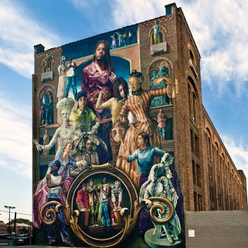 What s your favorite work of public art american craft for Common threads mural