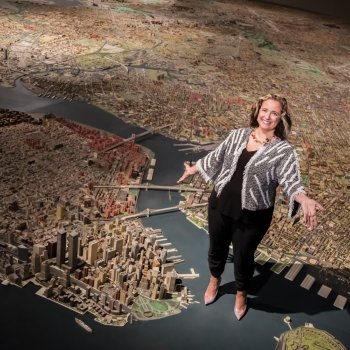 Laura Raicovich on Panorama of the City of New York