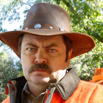 Nick Offerman as Ron Swanson