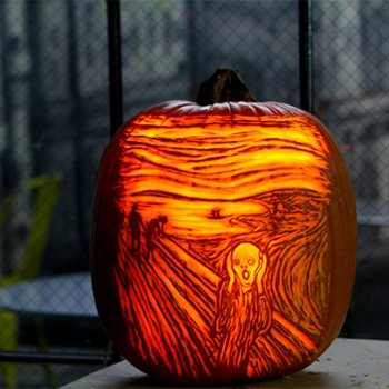 Maniac Pumpkin Carvers, The Scream