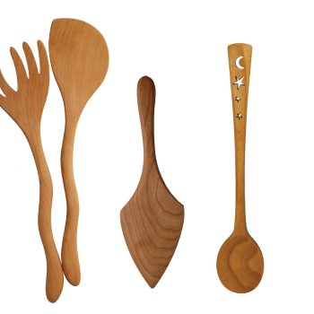 Jonathans Simon wild cherry utensils