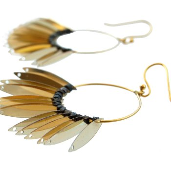 Giovanna Torrico, Phénix Tears Hoop Earrings