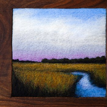 Jaana Mattson, Purple Dusk on the Marsh