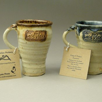 Joel Cherrico, Stamped Coffee Mugs