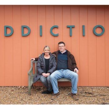 Lori Baum and Aaron Henkelman Addiction Sign