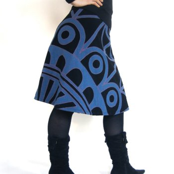 Rachel Sherman Dome Applique Skirt